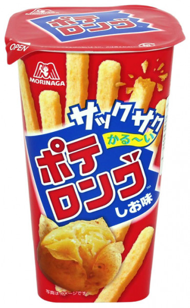 Morinaga Japanischer Kartoffelsnack, 45 g