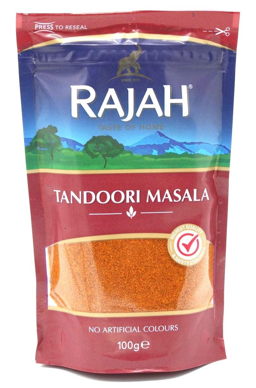 Rajah: Tandoori Masala indische Gewürzmischung, 100 g