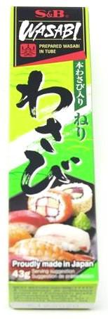 S&B Wasabipaste, 43 g