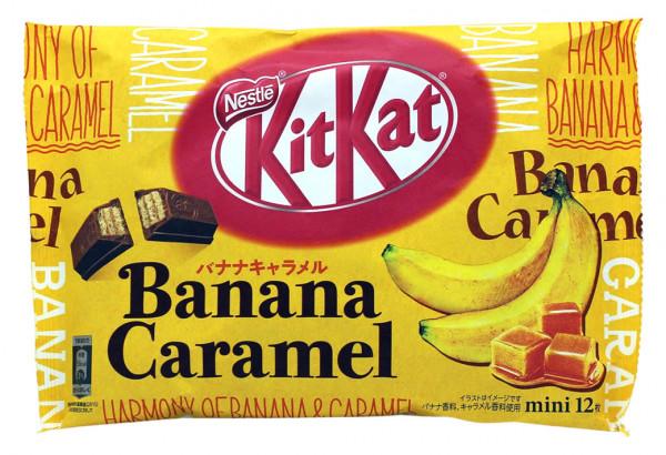 Nestle KitKat Chocolat Banana Caramel Mini, 12x 9,9