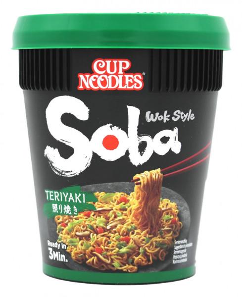 Nissin Soba Teriyaki Cup Nudeln, 90 g