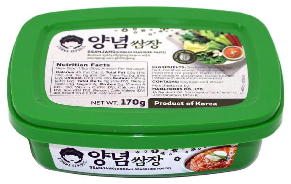 Ssamjang koreanische Sojabohnenpaste gewürzt, 170 g