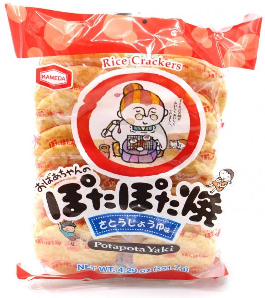 Kameda Reiscracker Pota Pota Yaki, 121 g