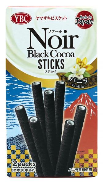 Noir Schwarze Kakaosticks, 63,6 g