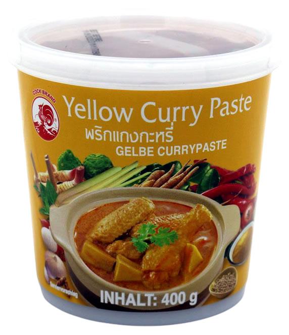 Cock Gelbe Currypaste milde Schärfe, 400 g