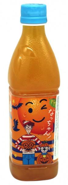 Suntory Natchan Soda-Getränk Orangen-Geschmack, 425 ml
