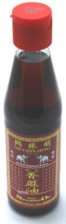 Oh Chin Hing Pure Sesamöl, 300 ml