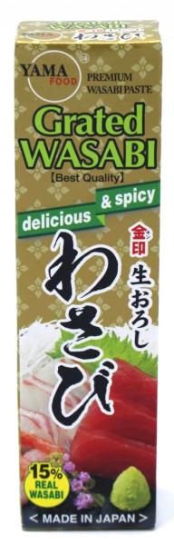 Kinjirushi Nama Oroshi Wasabi Paste, 43 g