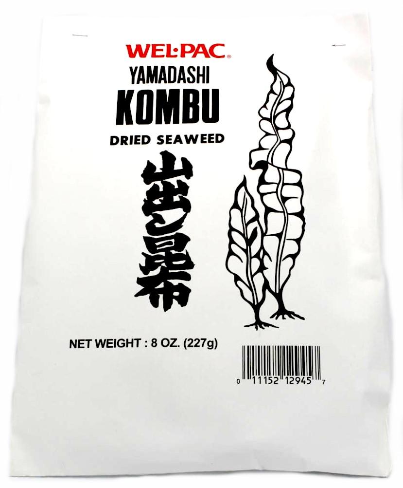Wel-Pac Yamadashi Kombu getrocknete Meeresalgen, 227 g