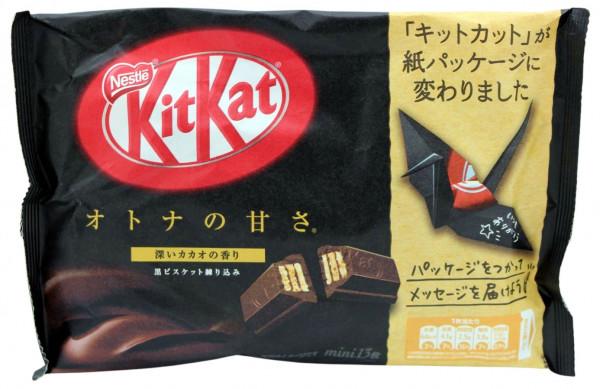 Nestle KitKat Schwarze Schokolade Mini, 13x 11,3 g