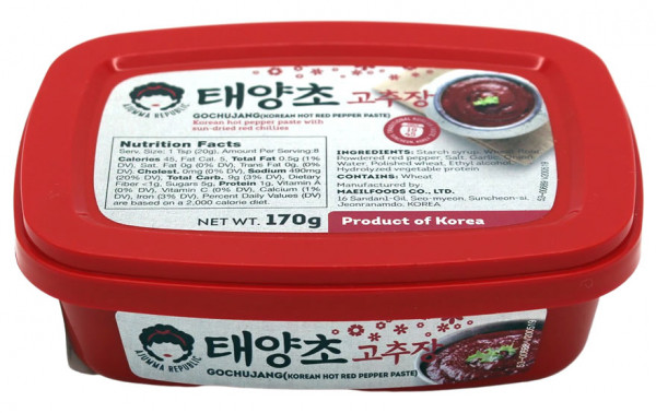 Gochujang scharfe rote Paprikapaste, 170 g