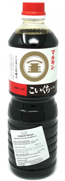 MARUKIN japanische Sojasoße dunkel, 1 l