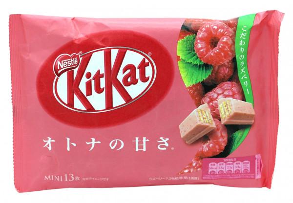 Nestle KitKat Himbeer-Geschmack Mini, 13x 9,7 g