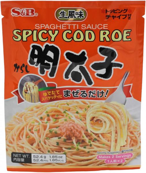 Würzige Mentaiko Pastasauce japanische Art, 52,4 g