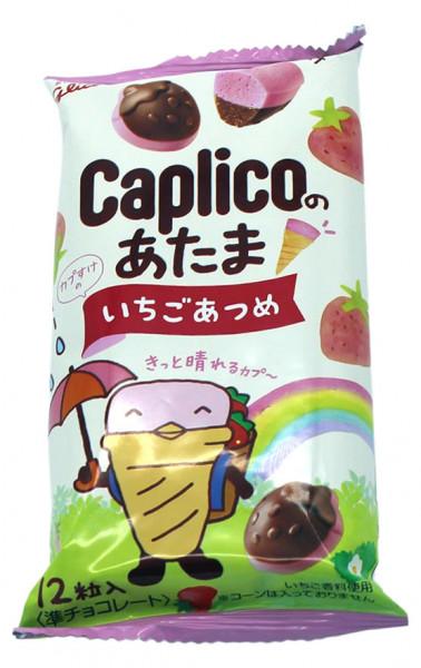 Caploco Erdbeere-Bonbons, 12 Stück, 30 g