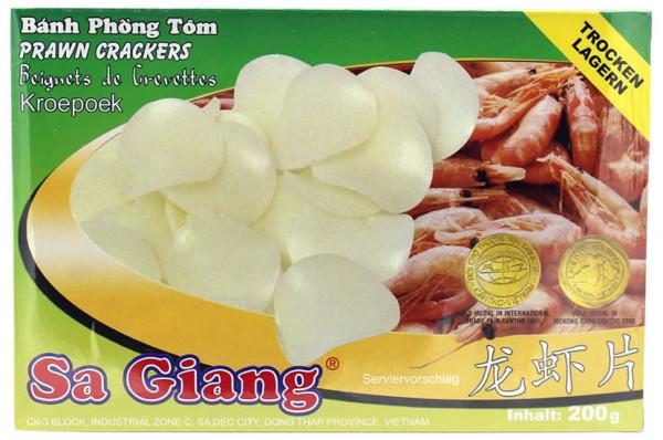 Sa Giang Garnelenchips unfrittiert (Kroepoek), 200 g