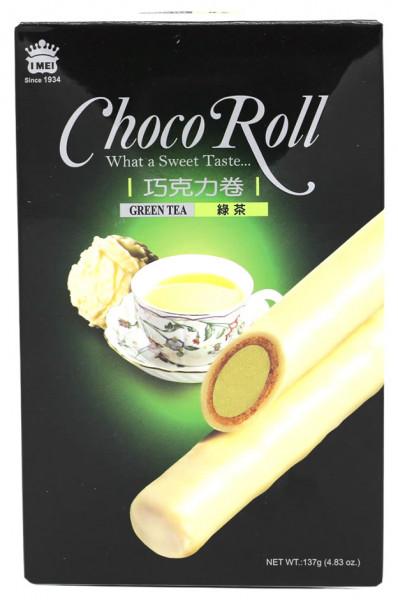 Schokoladenrolle mit Grüntee Geschmack, 137 g
