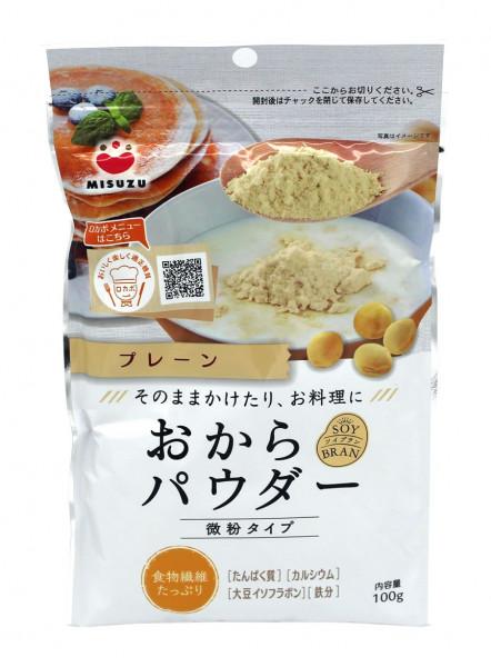 Okara-Sojabohnenpulver, 100 g