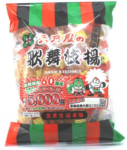 OEDO KABUKIAGE, Reis-Cracker, 132 g