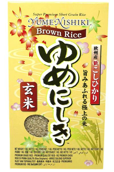 Yume Nishiki Braunreis, 1 kg