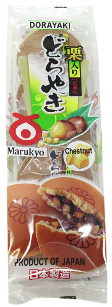Marukyo Kuri Dorayaki Pfannkuchen, 300 g