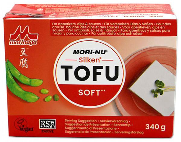 Mori-Nu Silken Tofu Soft, weicher Seidentofu, 340 g