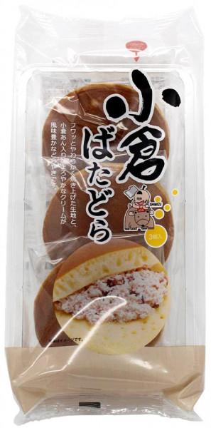 Dorayaki mit Buttercreme & roter Bohnenpaste, 3 Stück