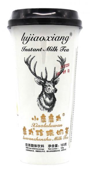 Lujiaoxiang Teegetränk Tapioka Perlmilch Xiaoluluwan, 123 g