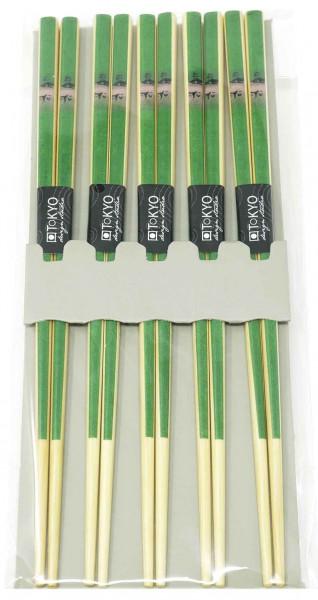 Essstäbchen-Set Bambus