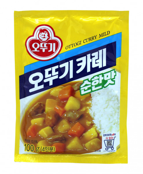 Ottogi Curry Pulver mild, 100 g