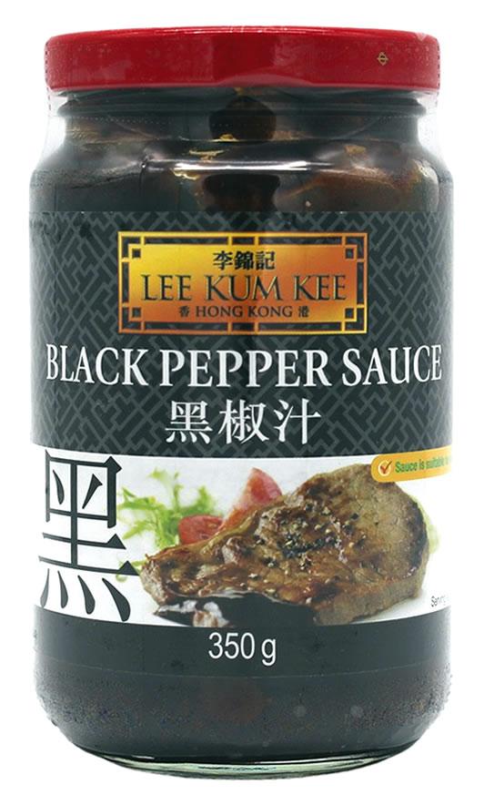 Lee Kum Kee schwarze Pfeffer-Sauce, 350 g