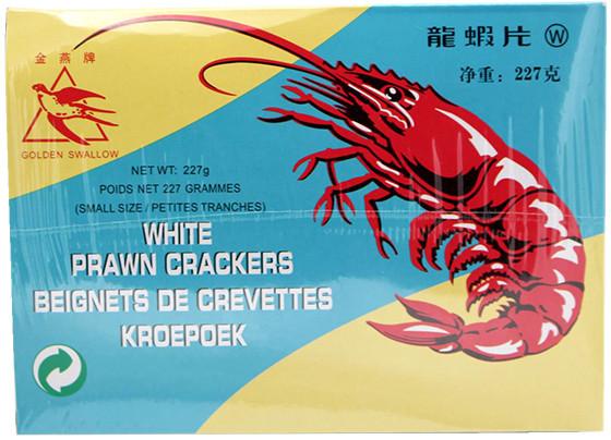 Ou Jiang weiße Krabbencracker zum Selber-Backen, 227 g