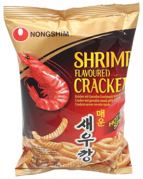 Nongshim Shrimp Cracker Scharf-Würzig, 75 g