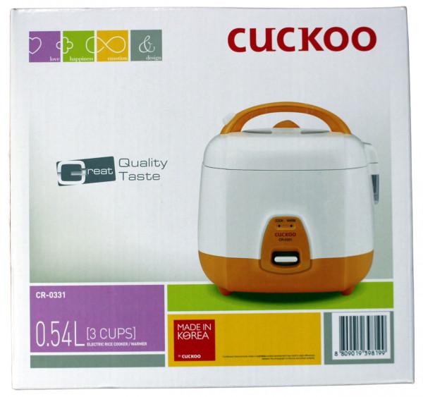 Reiskocher CUCKOO CR-0331, 1-3 Tassen