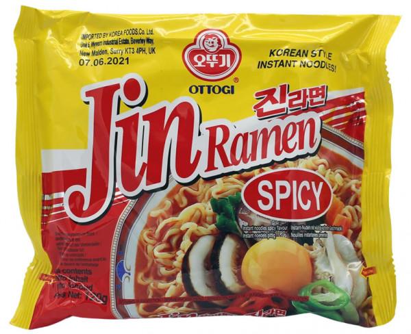 OTTOGI Jin Ramen würzig-scharf, 120 g