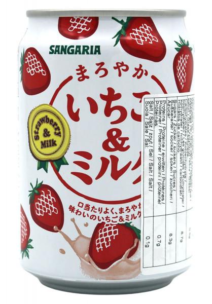 Erdbeer-Milch Saftgetränk, 275 ml