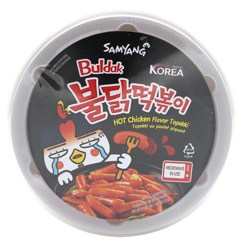 Samyang Hot Chicken Ramen Topokki Reissticks, 185 g