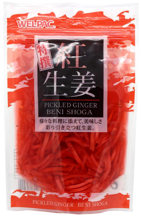 Eingelegter Ingwer (Beni Shoga), 100 g