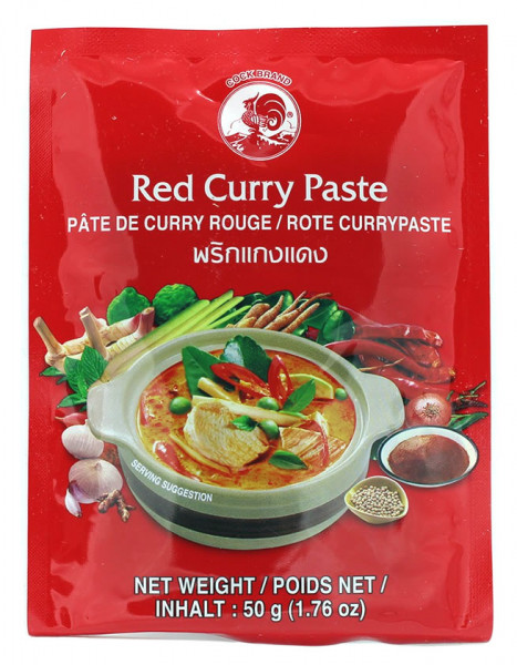 Cock Rote Currypaste mittelscharf, 50 g
