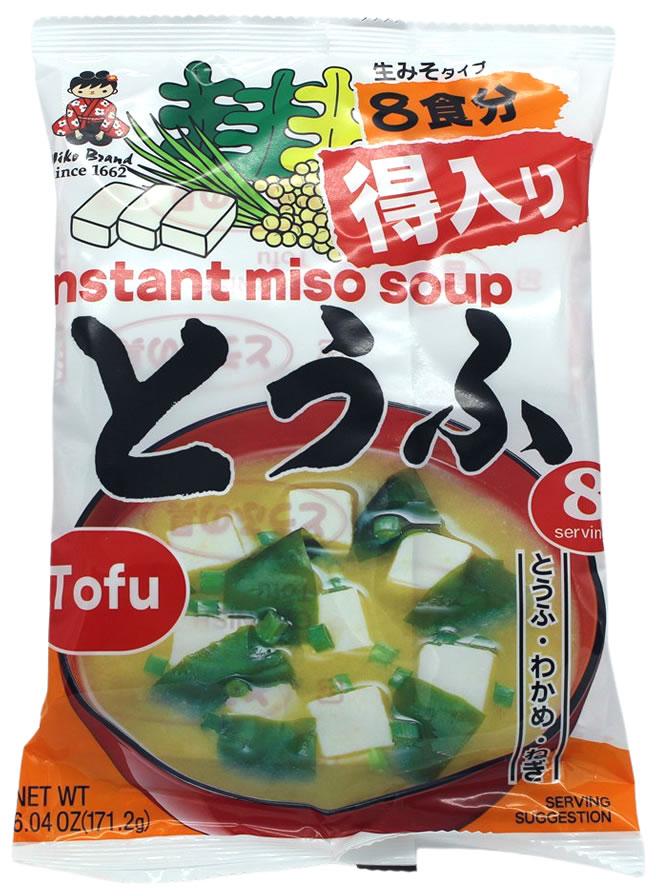 Miyasaka Tokuiri Tofu-Instant Misosuppe, 171,2 g