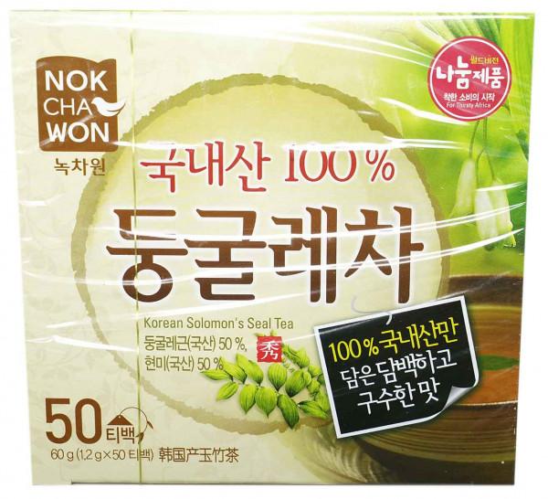 Nokchawon Weißwurzen-Tee, 50 Beutel je 1,2 g