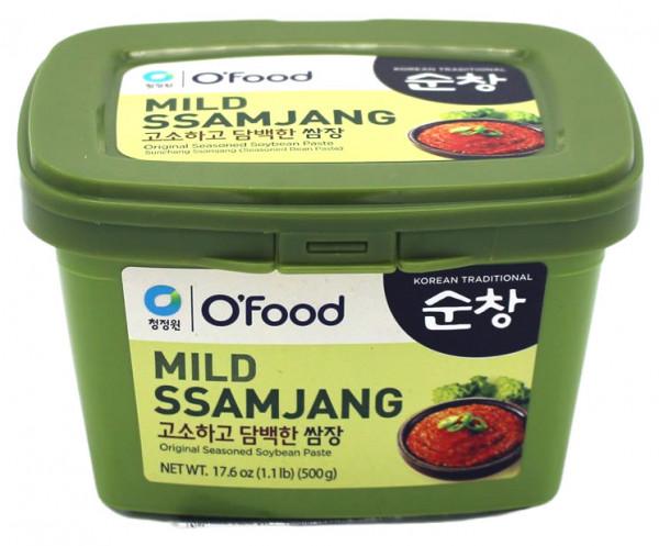 CJ Ssamjang Sojabohnenpaste mild, 500 g