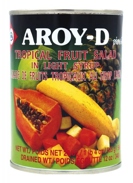 Aroy-D Tropischer Obstsalat in Sirup, 565 g