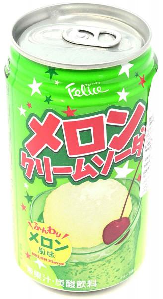 TOMINAGA Melon Cream Soda, 350 ml