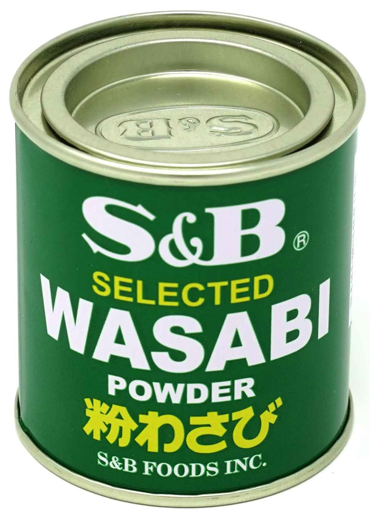 S&B Wasabipulver, 30 g