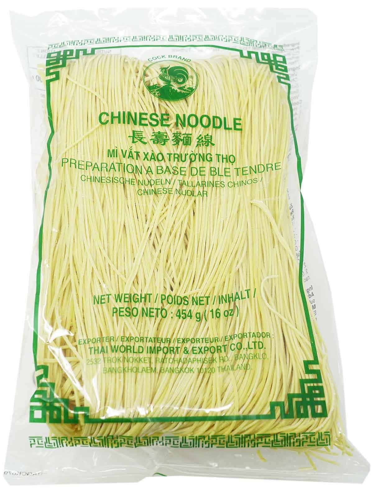 Cock Gelbe Weizennudeln mit Kurkuma, 454 g