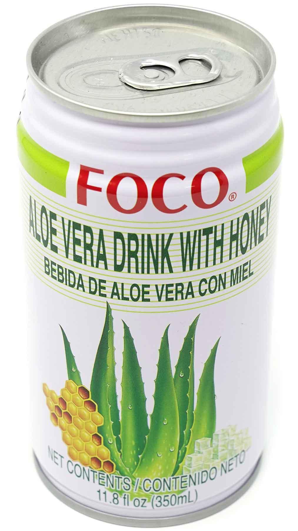 Foco Aloe Vera Drink mit Honig, 350 ml