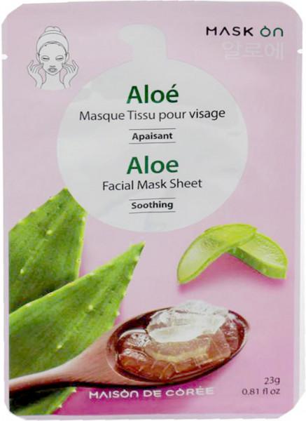Maison de Corée erfrischende Gesichtsmaske mit Aloe Vera