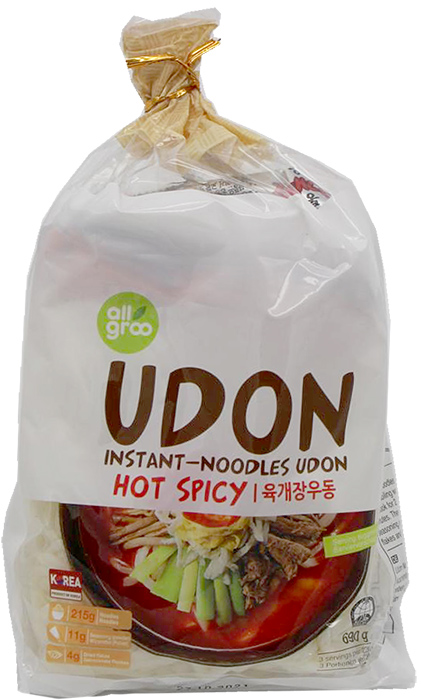 All Groo Udon Hot Spicy, 690 g
