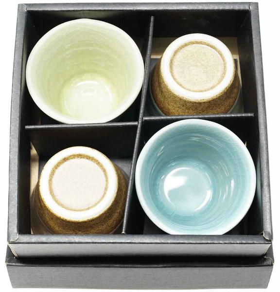 Teeschalen-Set